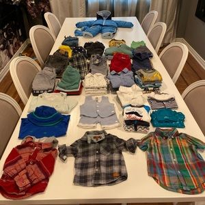 Baby Boy Clothes - Large Lot - 3-24 months
